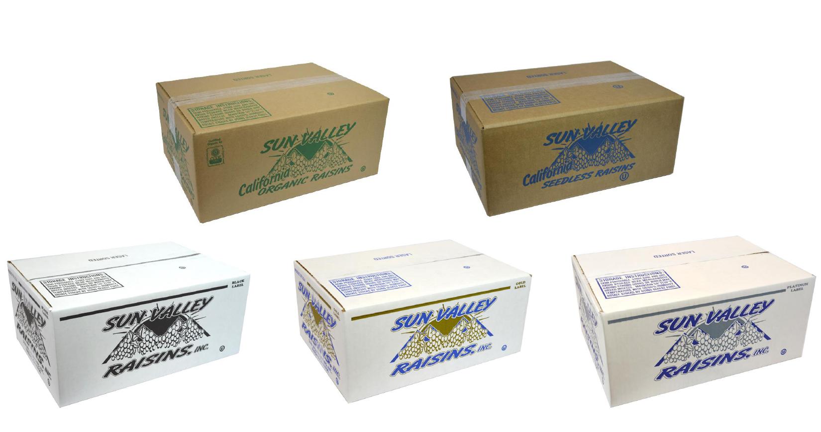 Sun Valley Raisins <br> Bulk Box